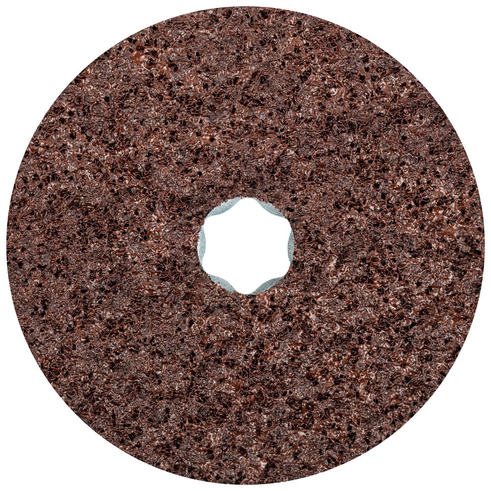 10,500 RPM Coarse Grit Pack of 10 4-1//2 Diameter PFERD 48100 Combiclick Non-Woven Disc Hard Type