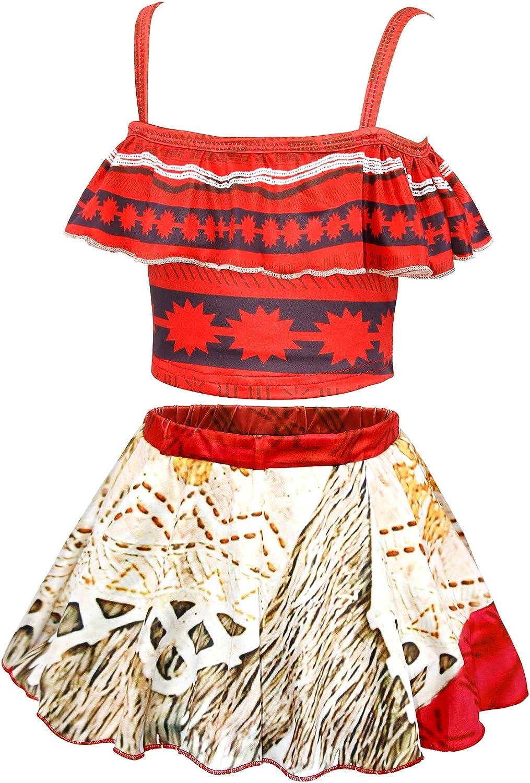 AmzBarley Chicos Ni/ños 3 unids Traje de ba/ño Maui Traje de ba/ño Playa Pantalones Cortos Traje de ba/ño con Gorra