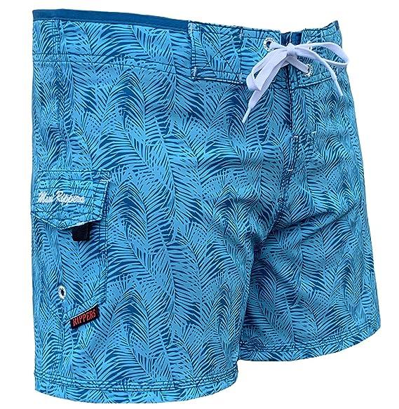 Amazon.com: Maui Rippers - Traje de baño, short con elástico ...