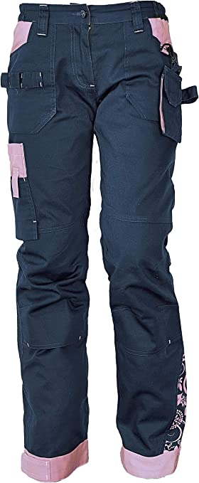 Imagen deDINOZAVR Yowie Pantalón de Trabajo Elástico Cargo para Mujer