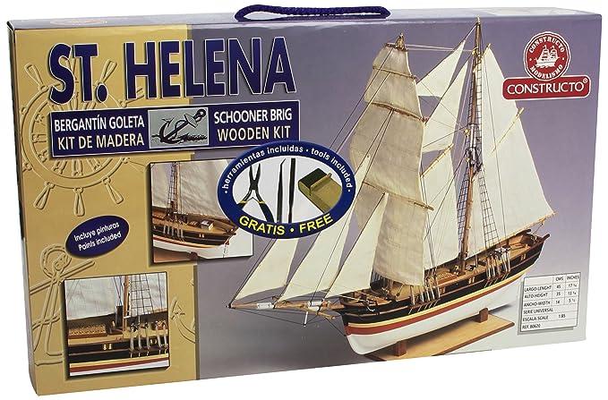 Constructo - 80620 - Construction et Maquette - Bateau - St. Helena - 1:85