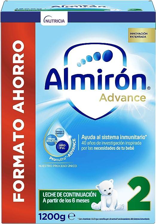Almirón Advance 2 Leche de Continuación en Polvo Desde los 6 Meses - 1200 g: Amazon.es: Alimentación y bebidas