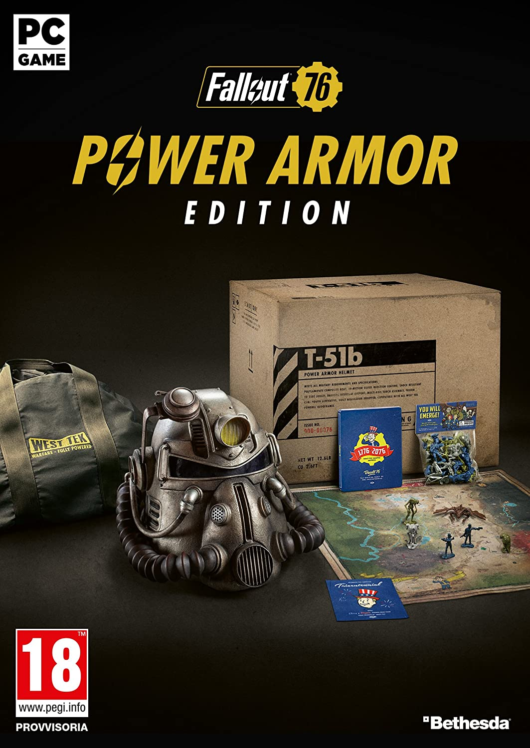 Fallout 76 - T-51b Power Armor Edition - PC: Amazon co uk