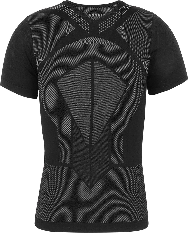 Outdoor Fitness Sport Atmungsaktiv Wandern normani Funktionsunterw/äsche Kurzarm T-Shirt f/ür Damen