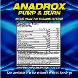 MHP Anadrox Pump & Burn, Nitric Oxide Fat Burning