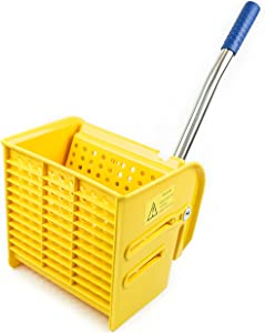 RK Safety RKMW24-Y Side Press Wringer Replacement for Commercial Mop Bucket 24 qt / 6 gal (Yellow)