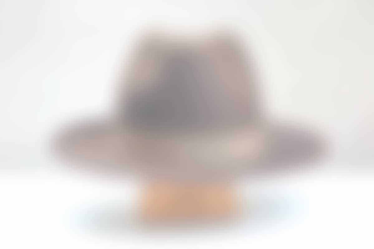Amazon.com  The Banjo - Rabbit Fur Felt Handmade Fedora Hat - Wide Brim - Men  Women  Handmade e69b3cf3363f