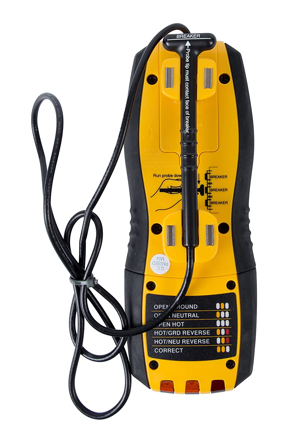 Sperry Instruments Cs61200 Circuit Breaker Finder Locator And Extech Ac Receptacle Tester Gfci