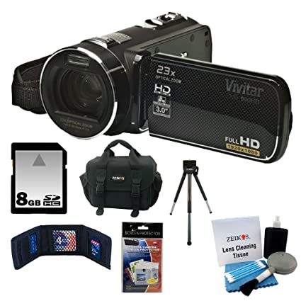 amazon com vivitar dvr 990hd 10 1mp with 23x optical zoom digital rh amazon com