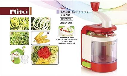 Buy Ritu Spiral Vegetable Cutter Potato Spiral Cutter
