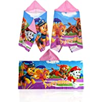 Paw Patrol Hooded Towel Poncho,Bathrobe Towel,Official Licensed