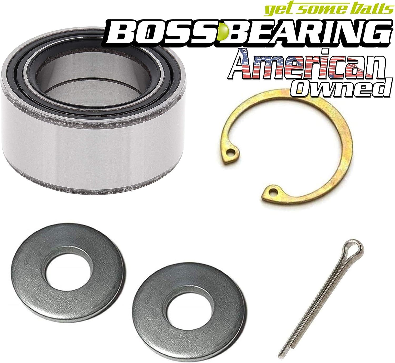 BossBearing Front Wheel Bearing Kit for Polaris RZR XP 1000 Turbo EPS 2016
