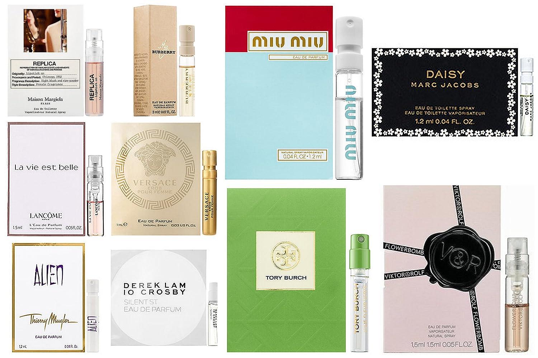Women's Designer Fragrance Sampler (10 vials)