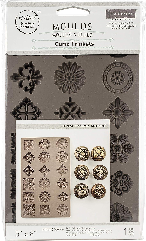"Prima Marketing Re-Design Mould 5""X8""X8mm-Curio Trinkets"