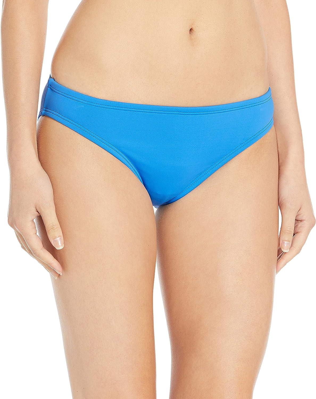 La Blanca Womens Island Goddess Solid Hipster Bikini Swimsuit Bottom