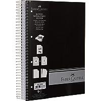 Faber-Castell 5075400506 Sert Kapak Sep.3+1+1 Siyah Defter, 200 Yaprak