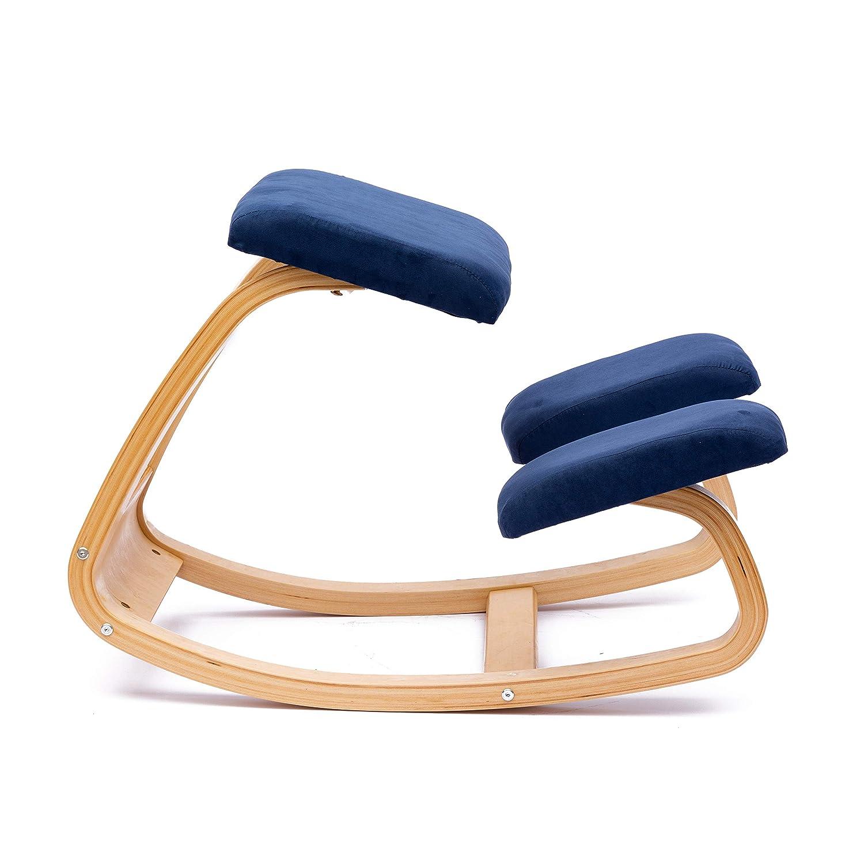 Su/ède ENMS PLUS Ergonomique Chaise /à Genoux Chaise de Yoga Tabouret Bleu