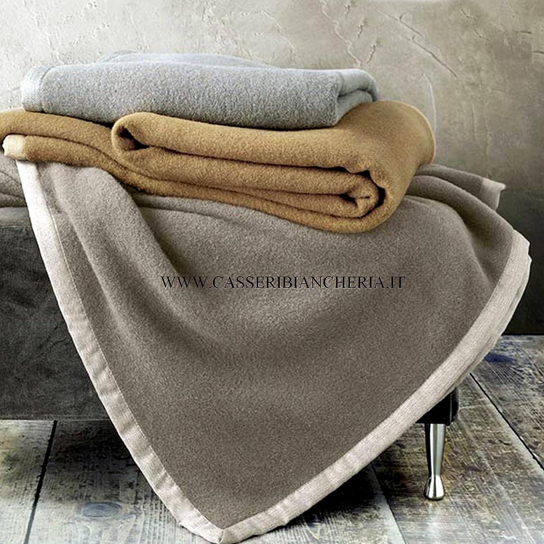 Somma Coperta da letto di lana merino Origami