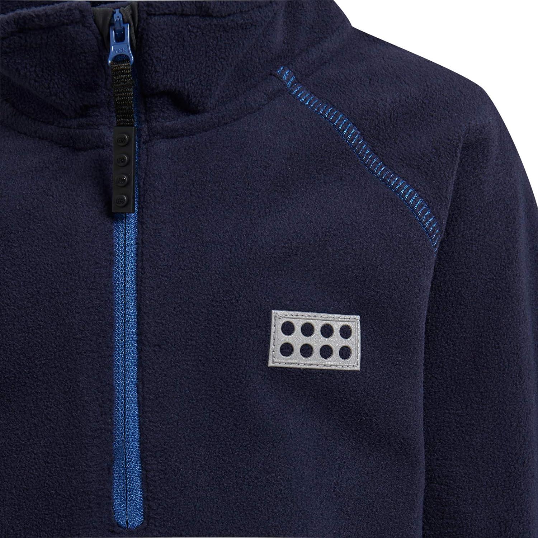 164 Bambino Dark Navy 590 Blu LEGO Wear Lego Unisex Lwsiam 703-Fleecepullover Felpa