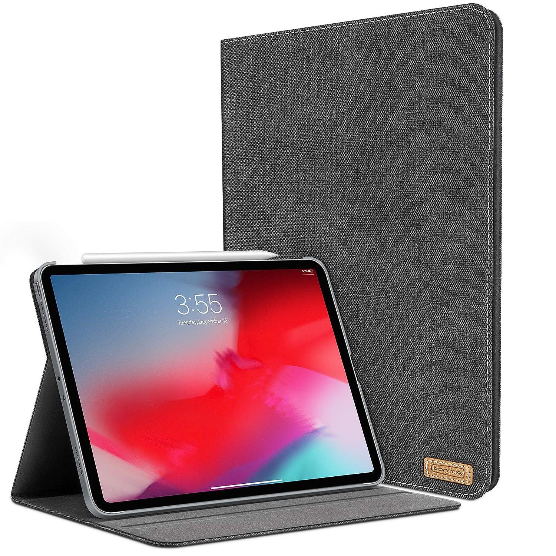 激安ブランド TORRAS iPad Pro ブラック - 11インチ 2018用ケース スリムフィット PUレザー ミニマリストスマートフォリオスタンドケースカバー PUレザー iPad Pro 11用 ペンシルスロット付き (充電&ペア) - 自動ウェイク/スリープ機能 ブラック ブラック B07LBC3647, GALLERIA:7b3e4913 --- a0267596.xsph.ru