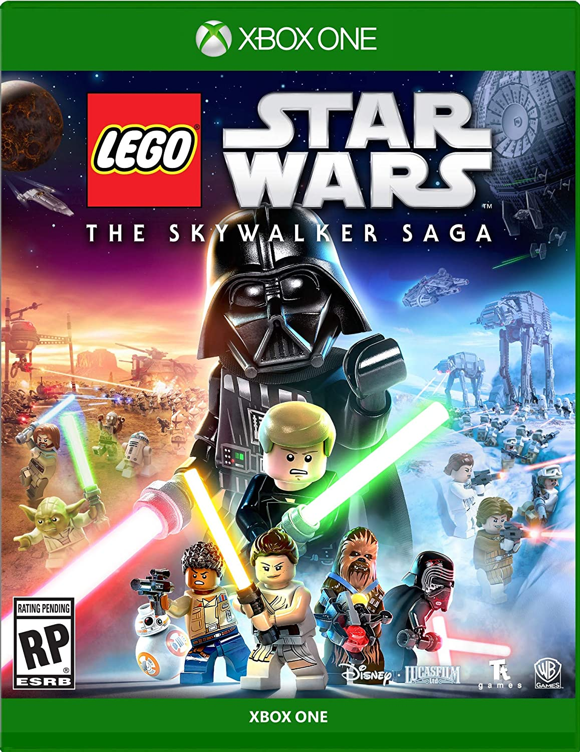Lego Star Wars Skywalker Saga for Xbox One [USA]: Amazon.es: Whv ...