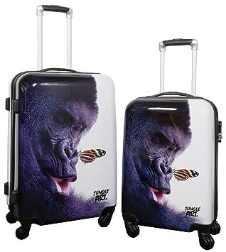 Trendyshop365 Gorilla - Juego de maletas Niños Mujer unisex-niños Hombre unisex Multicolor multicolor large: Amazon.es: Equipaje