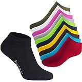 SNEAK IT! - 10 pares de calcetines tobilleros unisex - Calidad de celodoro - Disponibles en varios colores y tallas de la 35 a la 50