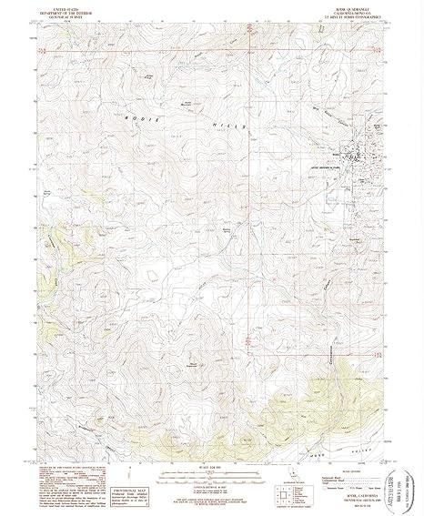 Amazon Com Yellowmaps Bodie Ca Topo Map 1 24000 Scale 7 5 X 7 5