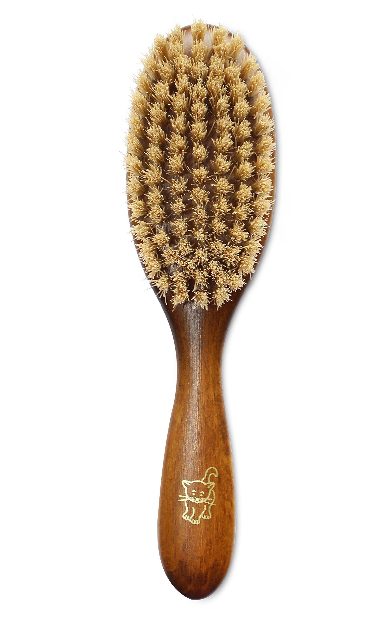 mars boar bristle cat hair brush