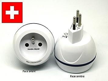 LTE Design - BB0163 - Adaptador de viaje Espana para Suiza: Amazon.es: Electrónica