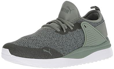 half off ee4b8 2ecba Puma - Chaussures Pacer Next Cage Knit Premium pour Hommes, 39 EU, Laurel  Wreath