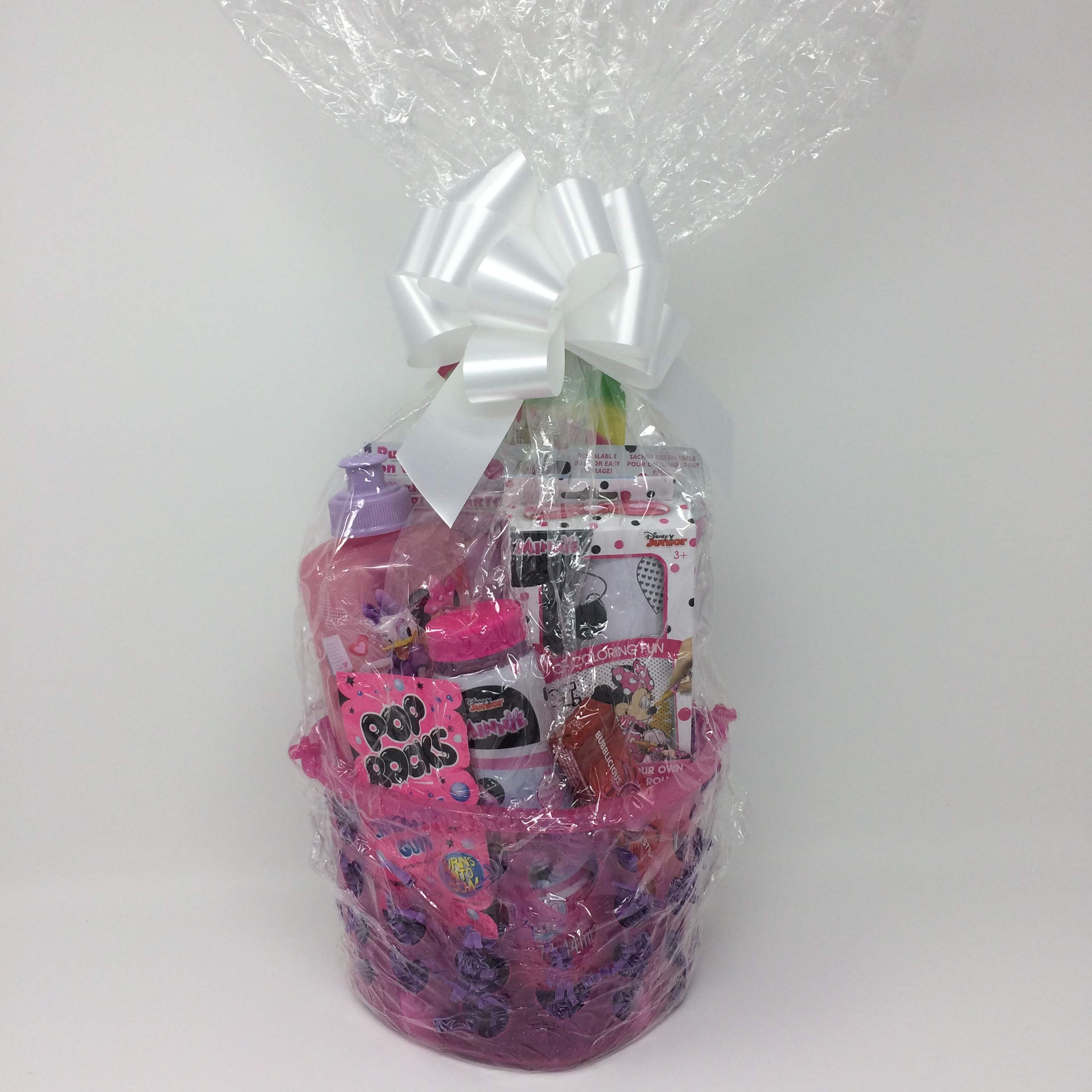 Minnie Mouse! Girls Gift Basket!