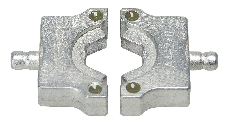 Greenlee KA4-2//0 Crimping Die for 4-Ton EK410 Tools Aluminum 2//0 AWG