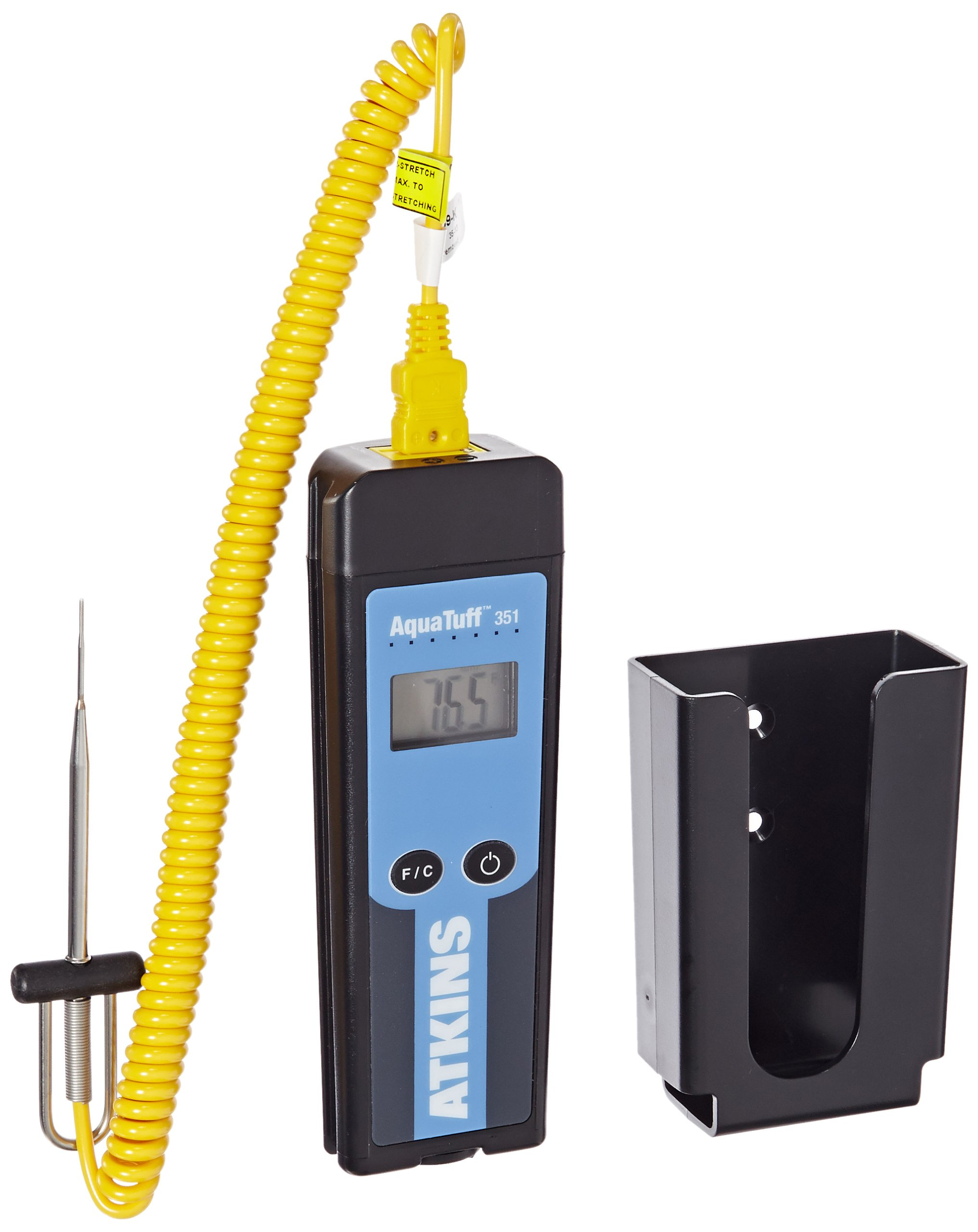 Cooper-Atkins 94003-K AquaTuff Type K Thermocouple with Probes and Bracket