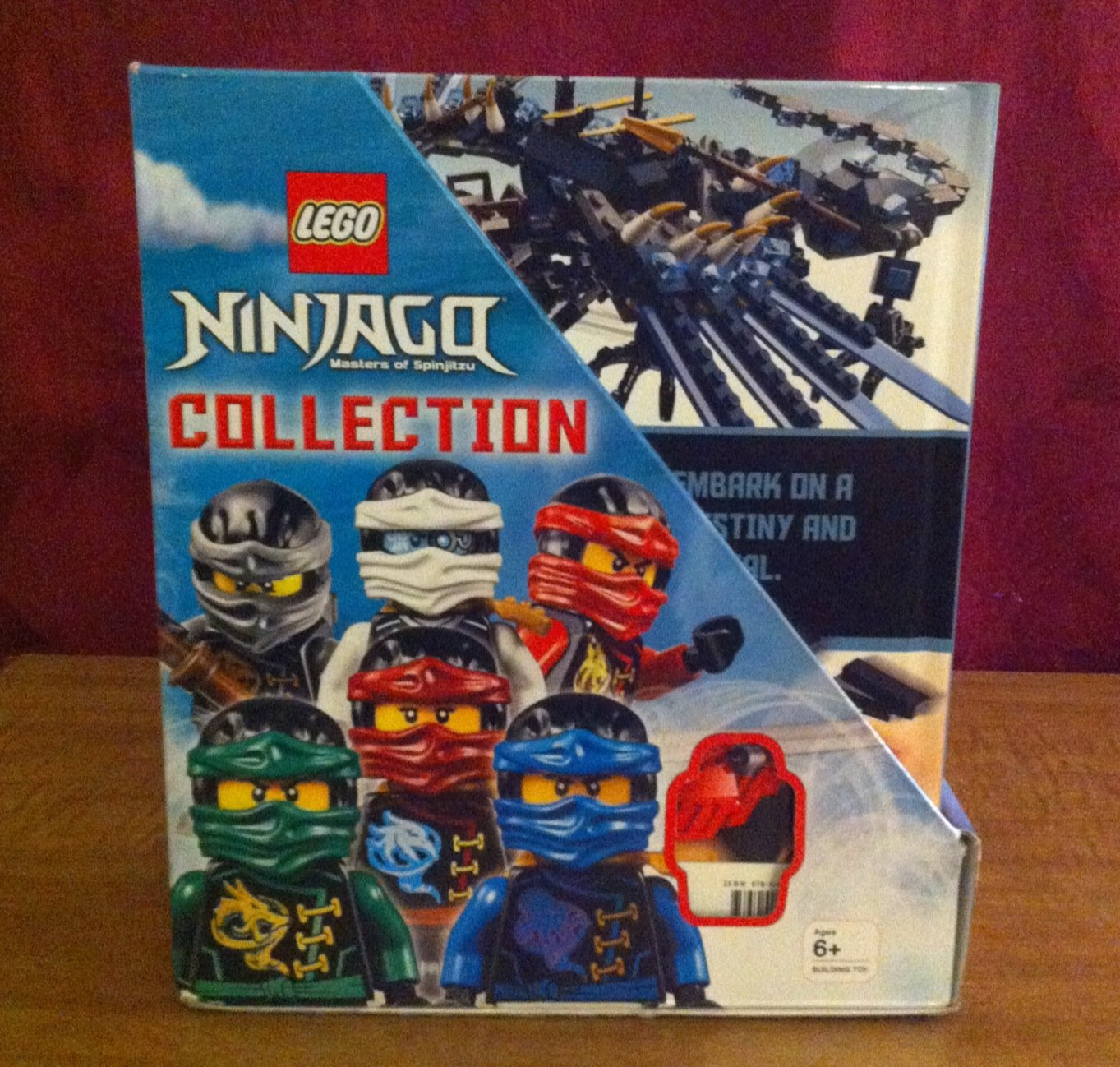 Lego Ninjago 10 books collection plus Limited edition ...