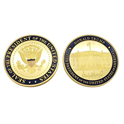 MAGA Presidential Coin Donald Trump 45th President of The