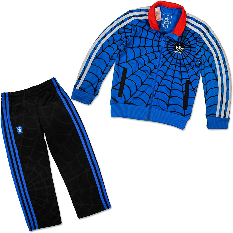 Adidas - Chándal para niño, diseño de Spiderman, niño, color azul ...