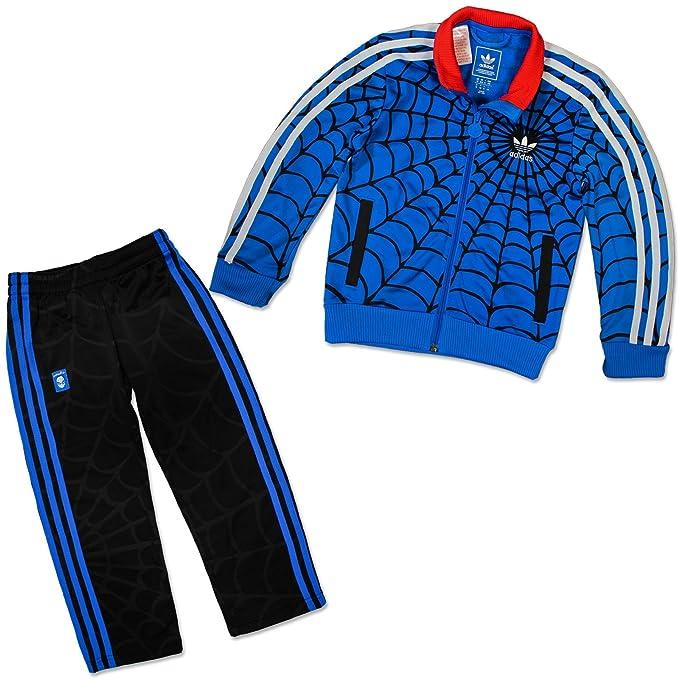 Adidas - Chándal para niño, diseño de Spiderman, niño, azul ...
