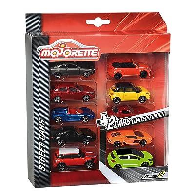 Smoby Majorette - 212054003 - Vehicule Miniature - B200 - Lot de 8 Pièces Classiques + 2 Pièces Edition Limitée