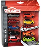 Majorette - Set de 10 coches, multicolor (212054003)