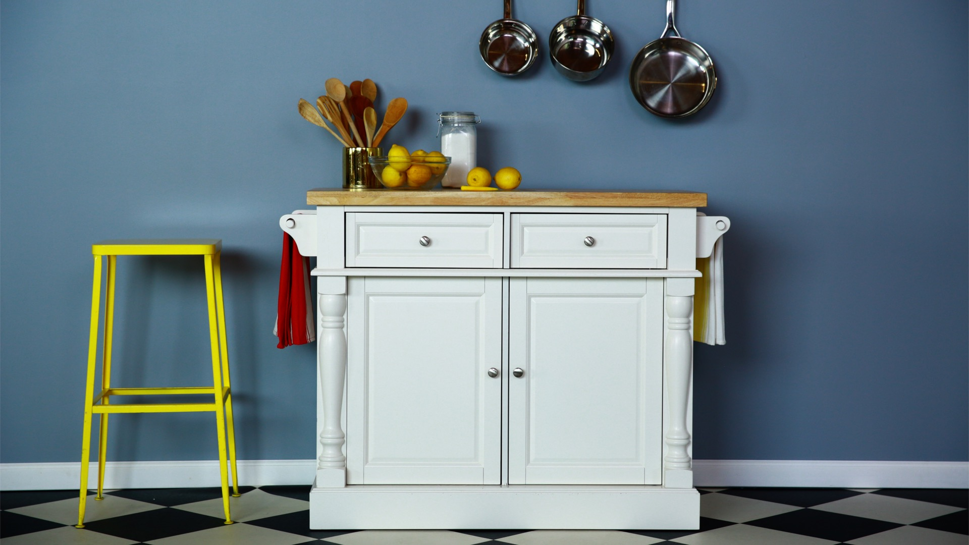 Finding Kitchen Islands and Carts