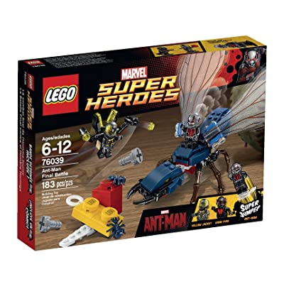 LEGO Superheroes Marvel's Ant-Man 76039 Building Kit (Discontinued by manufacturer): Toys & Games
