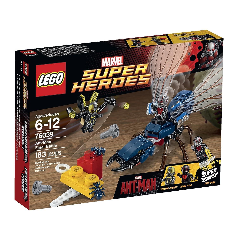 LEGO Superheroes Marvel\'s Ant-Man 76039 Building Kit: Amazon.co.uk ...