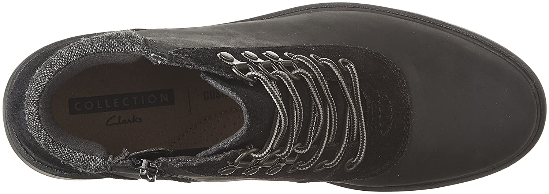 CLARKS Woherren Raisie Vita Stiefel, US schwarz Leather, 7 M US Stiefel, 3a08fd