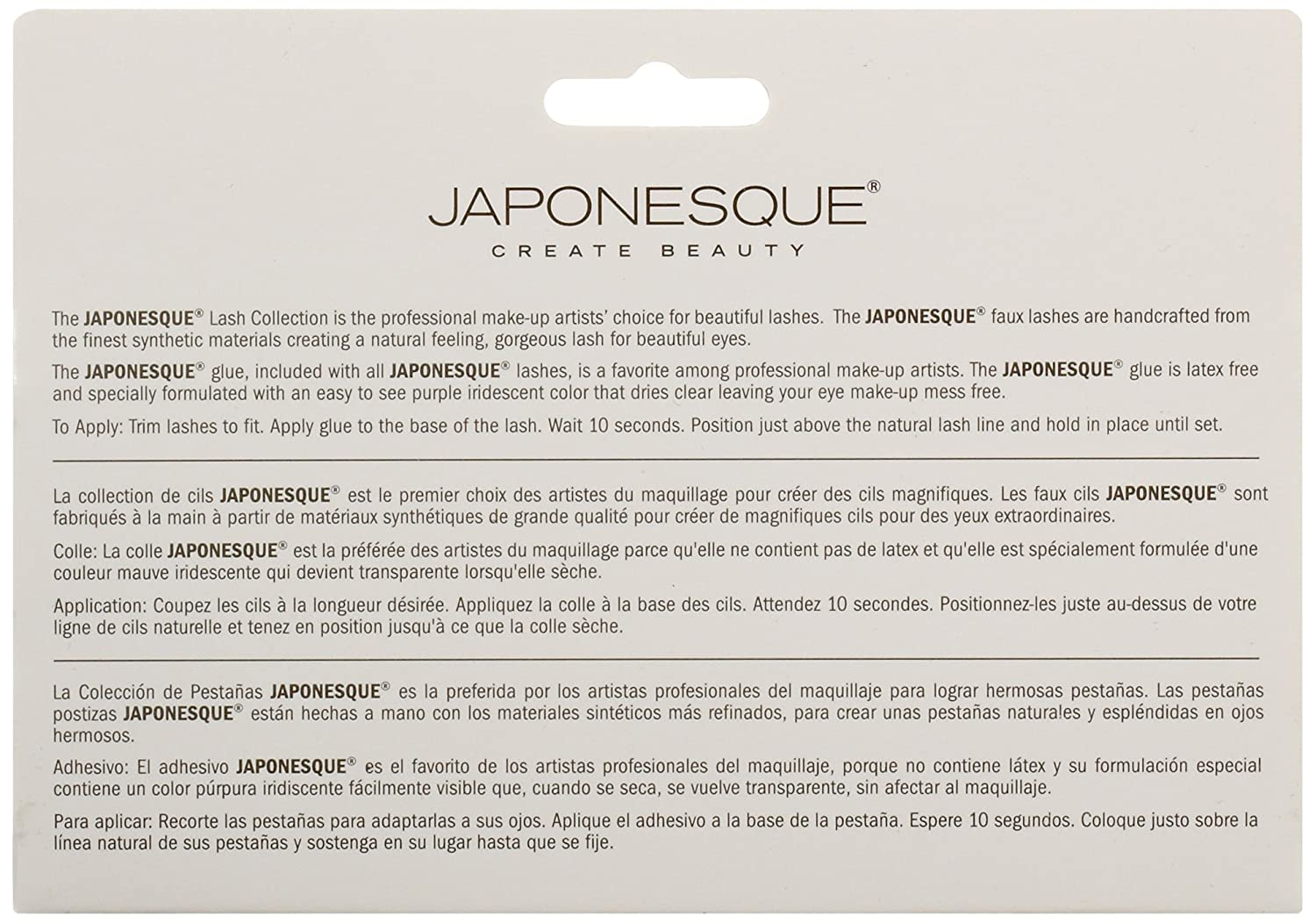 amazon com japonesque extra flair eyelashes luxury beauty