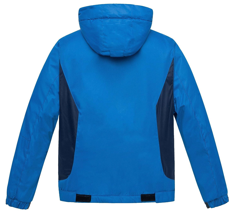 74c574e69 Wantdo Boys Waterproof Ski Fleece Jacket Hooded Windbreaker ...