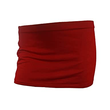 Lootique London - Falda para Mujer (25, 4 cm), Color Rojo: Amazon ...