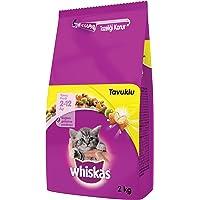 Whiskas Yavru Kediler için Tavuklu Kuru Mama 2 kg