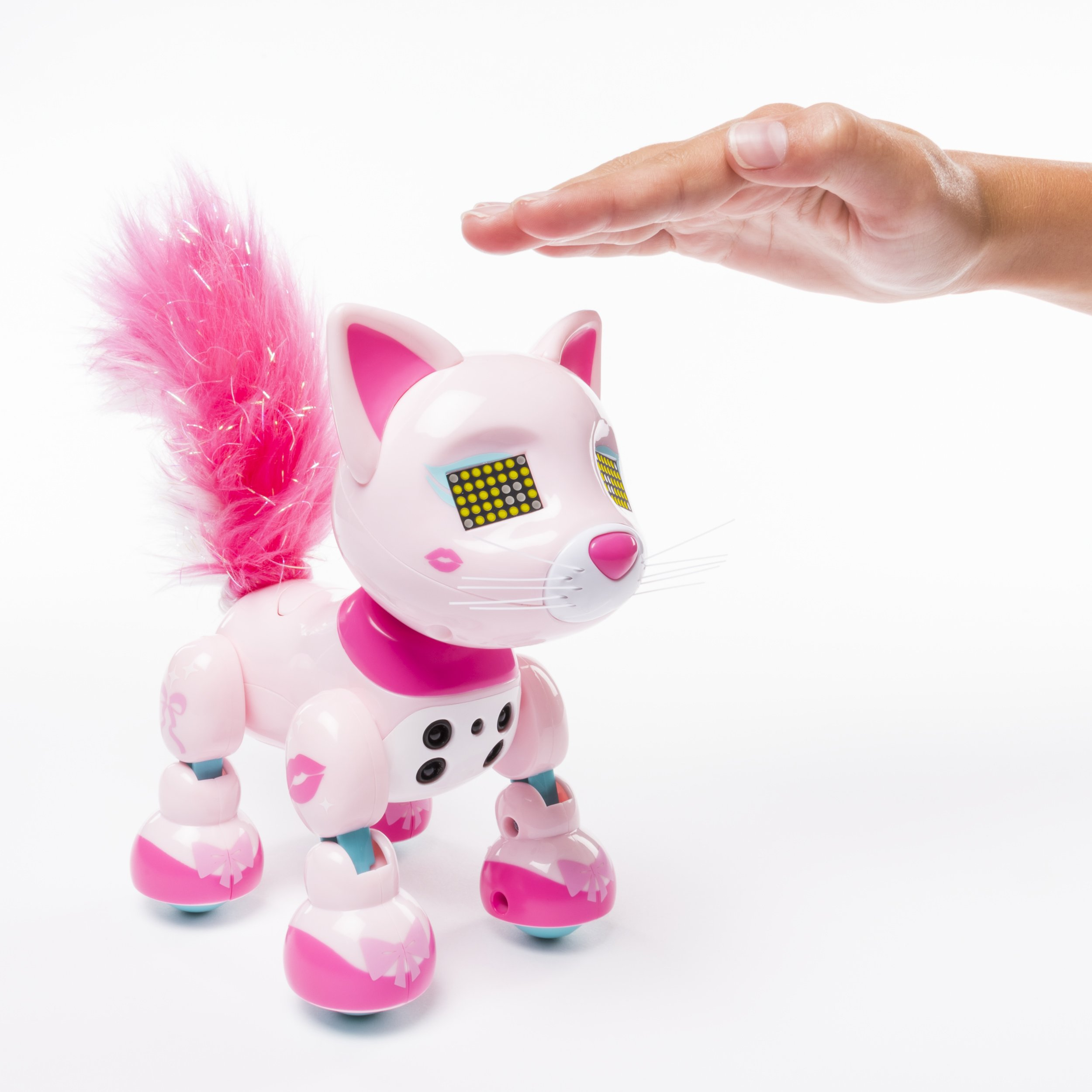 Zoomer Meowzies, Chic, Interactive Kitten with Lights, Sounds and Sensors by Zoomer (Image #7)