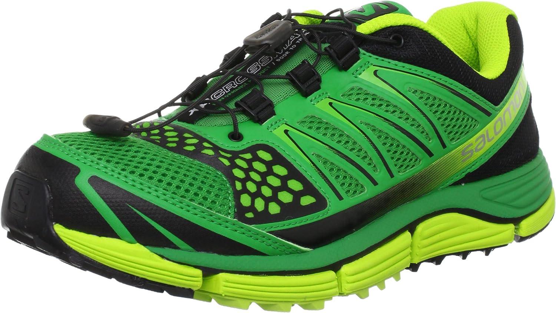 SALOMON XR Crossmax 2 Zapatilla de Running Caballero, Verde/Negro, 47 1/3: Amazon.es: Zapatos y complementos